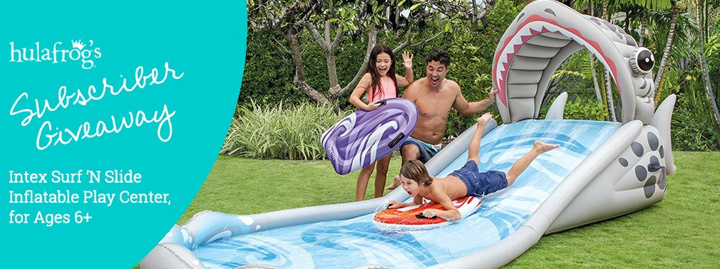 Intex Surf 'N Slide Inflatable Play Center June 2018 Giveaway