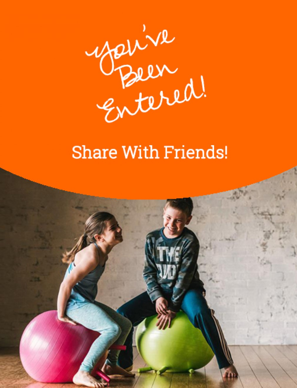 Gaiam Kids Stay-N-Play Children's Balance Ball September 2020 Giveaway