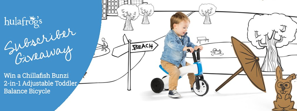 Chillafish Bunzi 2-in-1 Toddler Balance Bike and Tricycle November 2020 Giveaway