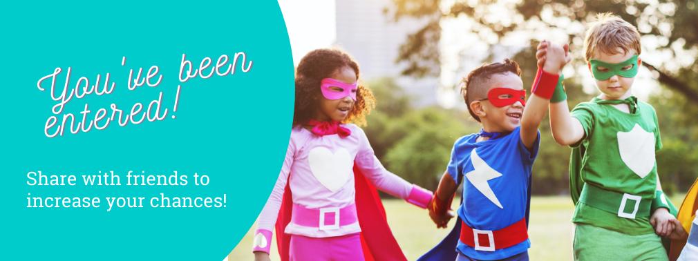 National Giveaway - Sept 2021 - Mighty Kids Preschool