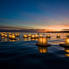 Water Lantern Festival at Prospect Lake