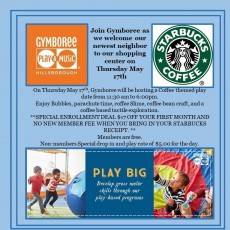 Coffee Themed Play Date @ Gymboree