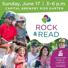 Things to do in Madison, WI: Rock & Read 2018