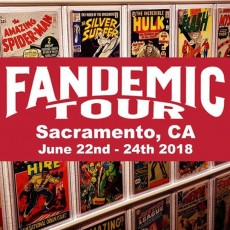 Things to do in Roseville, CA for Kids: Fandemic's Sacramento Show: A New Comic Convention Experience, Fandemic Tour