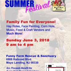 Funny Farm Rescue Summer Festival