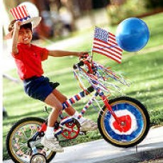 OCNJ 4th of July Bike Parade (Longport Bridge Parking Lot)
