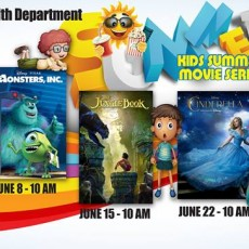 Kids Summer Movie Series