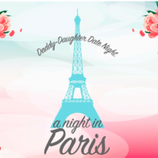 A Night in Paris - Daddy Daughter Date Night