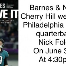 Nick Foles Book Signing