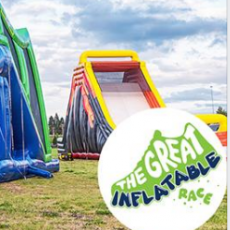 Things to do in Mason-Westchester, OH for Kids: The Great Inflatable Race, The Great Inflatable Race