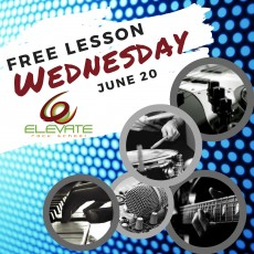 Free Lesson Wednesday