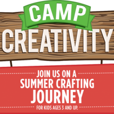 Things to do in Martin County-Port St Lucie, FL for Kids: Craft Time @ Camp Creativity 2018: June 11-July 27, M-W-F, Michaels Stores PSL