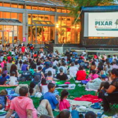 Things to do in Red Bank, NJ for Kids: Red Bank Summer Movies in the Park , Red Bank River Center