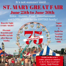 Things to do in Red Bank, NJ for Kids: The Great St. Mary's Fair, St. Mary's Roman Catholic Church