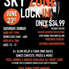 Fort Myers, FL Events for Kids: Lock In
