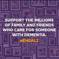 Fights the Alzheimer's epidemic.