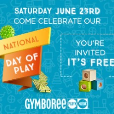 National Day of Play at Gymboree!