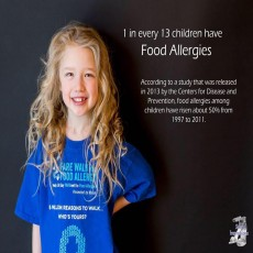 Supporting food allergy kids and families!