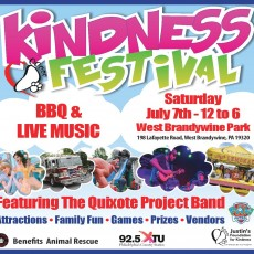 Things to do in West Chester, PA for Kids: 3rd Annual Chester County Kindness Festival, Justin's Foundation for Kindness