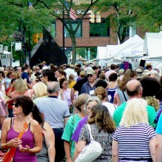 Things to do in Syracuse, NY for Kids: SYRACUSE ARTS & CRAFTS FESTIVAL, Columbus Circle