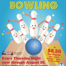 Things to do in El Paso East, TX for Kids: Unlimited Bowling, Desert Strike Lanes Bowling Center- Fort Bliss