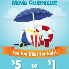 Summer Movie Clubhouse: Ten Weeks of Fun Films for Kids!