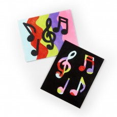 Things to do in Phoenix North, AZ for Kids: MAKEbreak Musical Canvas Art, Michaels - North Phoenix