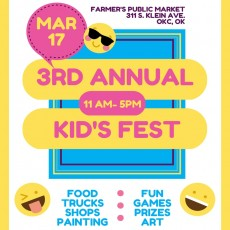 Oklahoma City North, OK Events for Kids: 3rd Annual Kids Fest-  2019