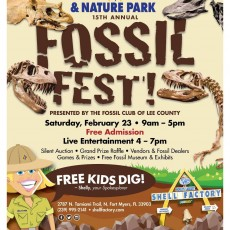 Fort Myers, FL Events for Kids: 15th Annual Fossil Fest