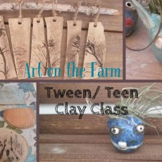 Fort Myers, FL Events for Kids: Art on the Farm - Teen/Tween Clay Class (11+)