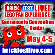 Folsom-EDH, CA Events for Kids: Brick Fest Live