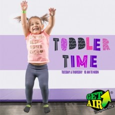 Cape May County, NJ Events: Toddler Time at Get Air