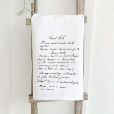 Family Recipe Tea Towel