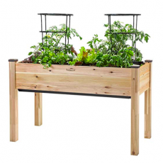 Self-Watering Elevated Cedar Planter