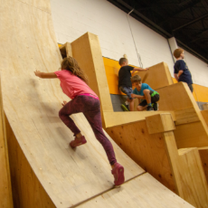 Things to do in Mansfield-Attleboro, MA for Kids: Parkour Camp - 1/2 Day or Full  , Hub Parkour Training Center
