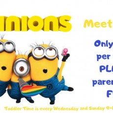 Fort Myers, FL Events for Kids: Minions Meet & Greet Little Leapers at SkyZone!