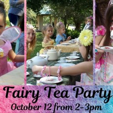 Fort Myers, FL Events for Kids: Fairy Tea Party at Rotary Park
