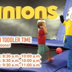Minions Halloween Toddler Time
