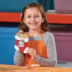 Long Beach, CA Events for Kids: Kids Workshop: Stocking Ornament (Spring Street)