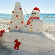 Fort Myers, FL Events for Kids: 3rd Annual Santa on the Sand at Lover's Key State Park