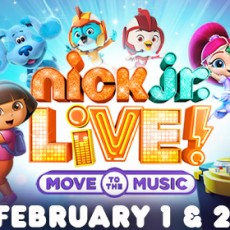 Brookline-Norwood, MA Events for Kids: Nick Jr. Live! Move to the Music
