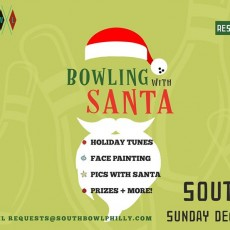 Things to do in Main Line, Pa: Bowling with Santa at South Bowl