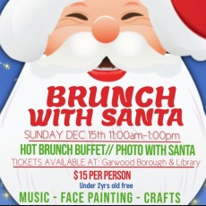 Things to do in Westfield-Clark, NJ: Brunch with Santa