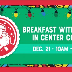 Fort Myers, FL Events for Kids: Breakfast with Santa in Center Court at the Bell Tower Shops