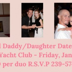 Fort Myers, FL Events for Kids: Daddy/Daughter Date Night at the Cape Coral Yacht Club