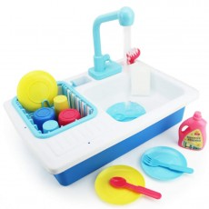 Play Kitchen Sink with Running Water