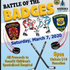 Things to do in Westfield-Clark, NJ: Battle of the Badges EPD vs FPD Charity Game