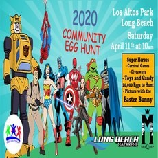 Long Beach, CA Events for Kids: Long Beach Community Egg Hunt 2020!