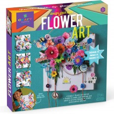 Design Your Own Flower Art Canvas