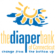 Providing diapers to families in need.